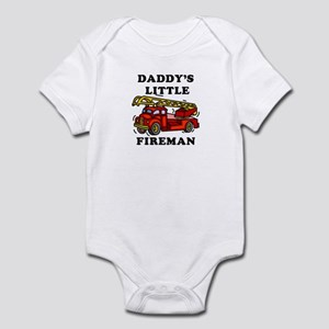 Daddy's Little Fireman - Infant Bodysuit