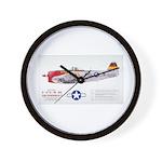 Republic Thunderbolt Aircraft Wall Clock