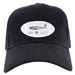 Republic Thunderbolt Aircraft Black Cap