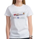 Republic Thunderbolt Aircraft (Front) Women's T-Sh