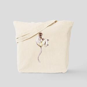 Verreaux's Sifaka Lemur Tote Bag