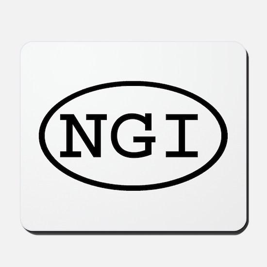 NGI Oval Mousepad
