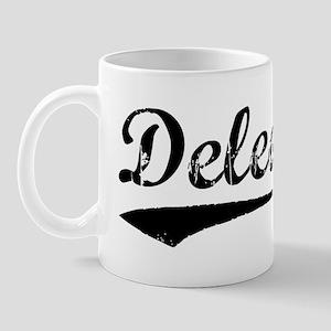 Vintage Deleon (Black) Mug