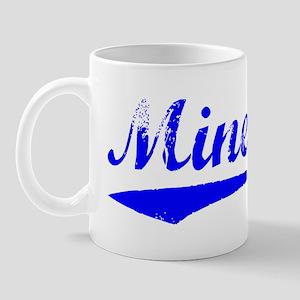 Vintage Minerva (Blue) Mug