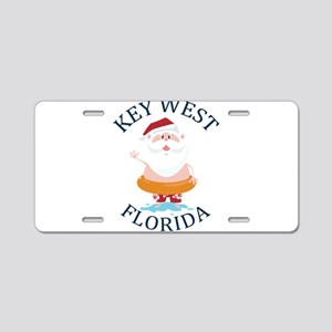 Summer key west- florida Aluminum License Plate
