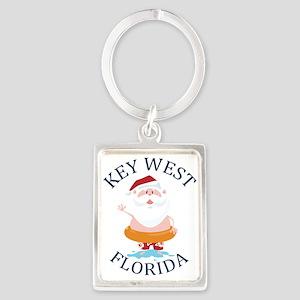 Summer key west- florida Keychains
