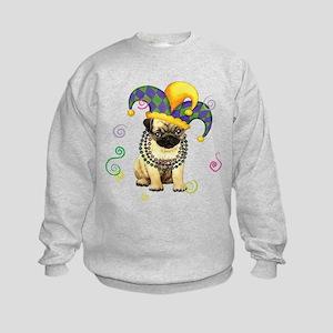 pug party Sweatshirt