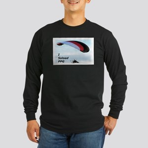 Soloed PPG Long Sleeve Dark T-Shirt