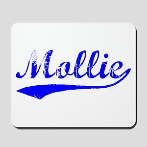 Vintage Mollie (Blue) Mousepad