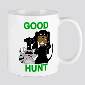 Raccoon Hunting Hound Mug