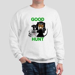 Raccoon Hunting Hound Sweatshirt