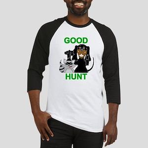 Raccoon Hunting Hound Baseball Jersey