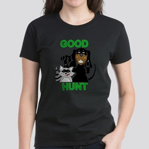 Raccoon Hunting Hound Women's Dark T-Shirt