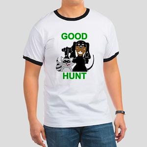 Raccoon Hunting Hound Ringer T