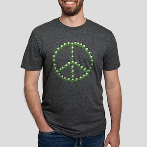 Green Beer Peace Sign Mens Tri-blend T-Shirt