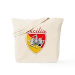 Sicilian Trisceli Tote Bag