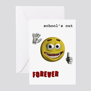 School's out Greeting Cards (Pk of 10)