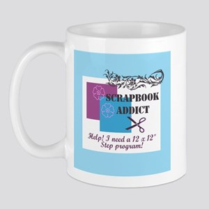 Scrapbook Addict - 12 x 12 St Mug