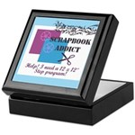 Scrapbook Addict - 12 x 12 St Keepsake Box