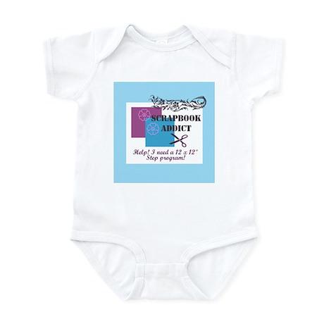 Scrapbook Addict - 12 x 12 St Infant Bodysuit