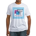 Scrapbook Addict - 12 x 12 St Fitted T-Shirt