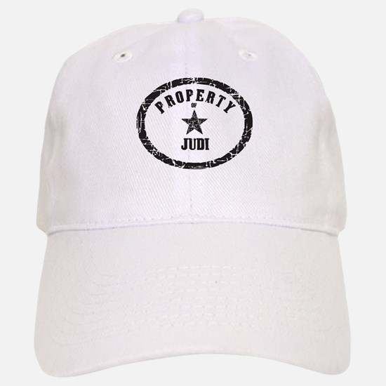 Property of Judi Baseball Baseball Cap