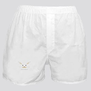 bunny face - straight ears Boxer Shorts