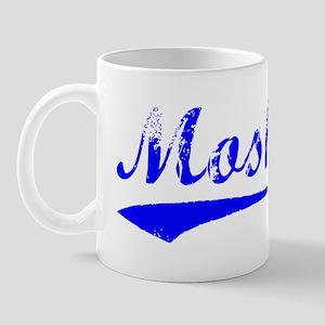 Vintage Moshe (Blue) Mug