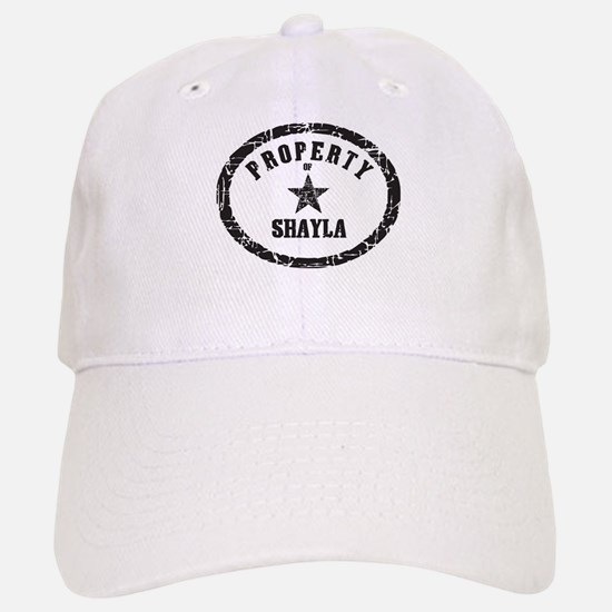 Property of Shayla Baseball Baseball Cap
