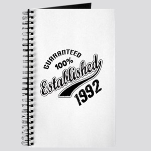 Guaranteed 100% Established 1992 Journal