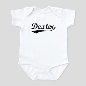 Vintage Dexter (Black) Infant Bodysuit