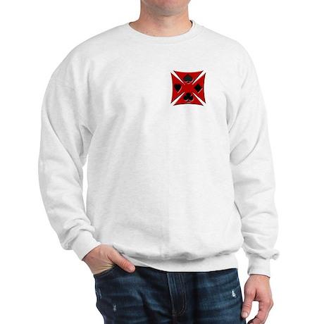 Ace Biker Iron Maltese Cross Sweatshirt