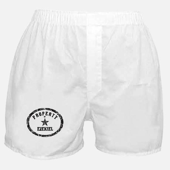 Property of Ezekiel Boxer Shorts