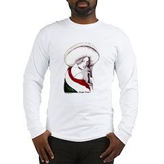 MEXICAN FLAG CHARRA Long Sleeve T-Shirt