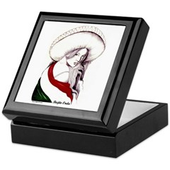 MEXICAN FLAG CHARRA Keepsake Box