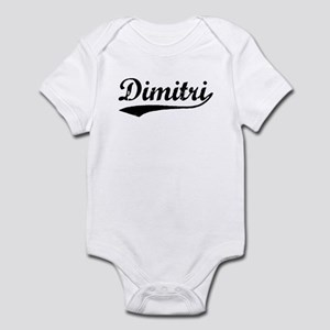 Vintage Dimitri (Black) Infant Bodysuit