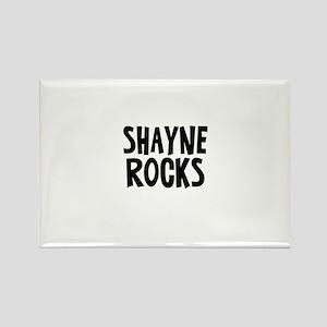 Shayne Rocks Rectangle Magnet