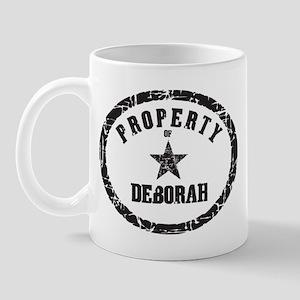Property of Deborah Mug