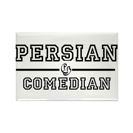 Persian Comedian Rectangle Magnet
