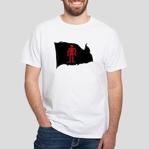 Edward Low (Red Skeleton) White T-Shirt