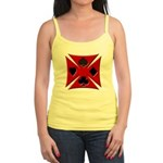 Ace Biker Iron Maltese Cross Jr. Spaghetti Tank
