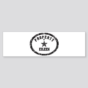 Property of Eileen Bumper Sticker
