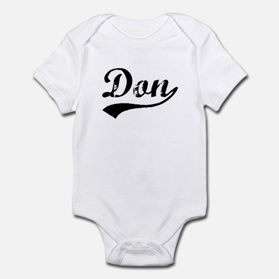 Vintage Don (Black) Infant Bodysuit