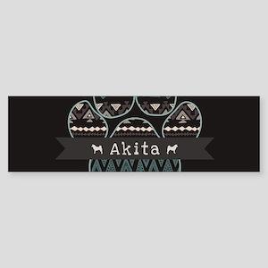Akita Sticker (Bumper)