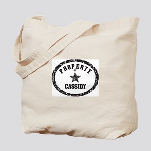 Property of Cassidy Tote Bag