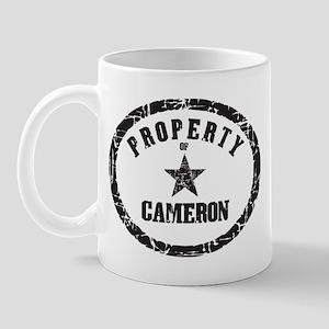 Property of Cameron Mug