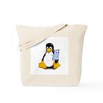 Greek Tux Tote Bag