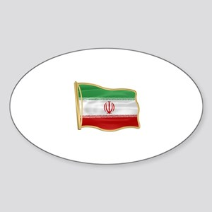 Iran 2 Oval Sticker