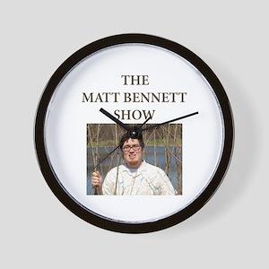 Matt Bennett Show Forest Wall Clock