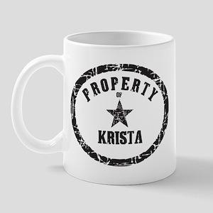 Property of Krista Mug